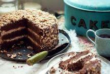 Cakes, bread, muffins and all things sweet / Kageopskrifter og søde sager