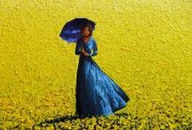 Blue & Yellow / Welcome to My Boards... Pinning Politely is Appreciated... Thank you and have a Great Day !!  / by Amélia