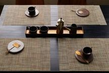 Table Settings / Inspiration for how to use Chilewich's world-renowned designs for the table and entertaining.  / by Chilewich
