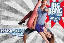 BiG BaNG! Start nowego sezonu 2015/16 w Salsa Libre! / Rusza wrześniowo-październikowa fala kursów w Salsa Libre: - salsa liniowa, kubańska, bachata, kizomba i zouk na najwyższym poziomie!