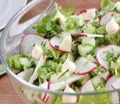 Рецепты салатов / Простые рецепты для чудо-хозяек.