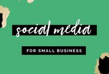 Social Media for Small Business / Hi there! Looking for tips and tricks to up level your social media game? You're in the right place for Facebook post ideas, getting more Instagram followers, social media images, image size guides for social media platforms, how to facebook live, tricks to grow your instagram following, instagram hacks, instagram theme, curating your feed, how to curate instagram feed, social media marketing for female entrepreneurs, social media for bloggers, social media for photographers, how to book clients