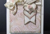 Cards with a heart. / A variety of hearts and valentines...with just the right amount of inspiration!