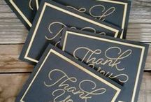 Cards~ Thank You / Inspiring ways to say thank you!