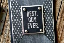 Masculine Cards & Projects / Some great ideas for the man in your life!