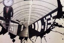 Art / Pencil, ink, sleepless nights