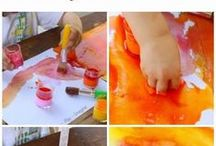Kiddie stuff - Colouring / Drawing / Painting ... / by Bettina