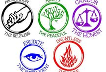 Divergent - factions / Abnegation ... The selfless Amnity ... The peaceful Candor ... The truthful Erudite ... The knowledgle  Dauntless ... The brave