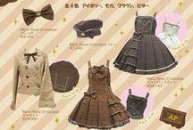Chocolate  Lolita / Chocolate lovers Dream Lolita
