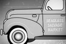 Seaglass Salvage Market (Group Board) / Welcome to our monthly market! We are open the 3rd weekend of every month! Indoor and Outdoor Vendors, food trucks and free coffee! Come see us! 1987 Andrew Jackson Hwy Leland, NC 28451