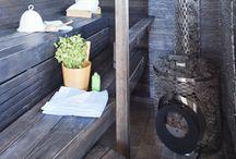 My cottage sauna