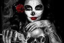a-tattoo skull - popular day of death