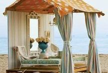 Outdoor Luxury TENT Living / Oh to experience Mother Nature in all her beautiful surrounds, and live in luxury... Woooo