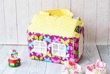 Домики-сумочки / Необычный аксессуар для игр и прогулок маленьких любительниц домиков