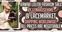 My Sales / Selling items from Japan   Lolita Fashion RARE JROCK concert goods ANIME Pullip Dolls Kawaii Accessories   https://egl.circlly.com/users/lenarosehime