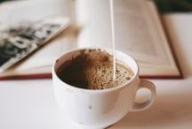 """• coffee o'clock / """"You can't buy happiness but you can buy tea and that's kind of the same thing."""""""