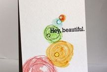 Card making / by Sunny Penn