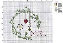 bożonarodzeniowe wzory haftow