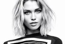 hair:style:short / Haare, Frisuren, Bob, Farbe, wild, Schönheit #glasschuhloves