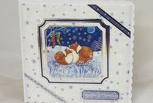 Christmas Cards / Here are some of my handmade Christmas cards.