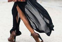 Long skirt looks