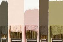 Color:Calligraphy / Schrift, Farben, Konzepte, Stile