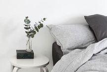 bed:room / schlafen, träumen, denken, kuscheln, Betten, Kissen, Stoffe