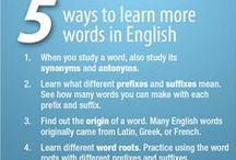 Lists Lists Lists / Learning English? Some helpful hints, tips, suggestions, and more, all in list form!