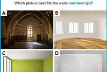 Picture Vocabulary (Questions) / Vocabulary questions using images instead of text.