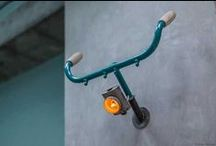 Bikes / Kreative DIY und Upcycling Ideen für ein selbstgemacht Fahrrad Regal, Leuchten und außergewöhnliche Möbel aus und für Fahrräder. DIY Ideas for Cycle und Bike