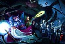 Concept art characters / Sci-fi, fantasy, horror character design