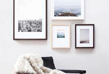 gallery:wall / bilder, fotos, inspiration, wohnen, individualität
