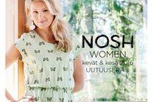 NOSH Clothing - Naisten kevät & kesä 2016 / Naisten kevään uutuudet ihastuttavat NOSH vaatekutsuilla! Ihastu mallistoon lookbookissa ja tilaa NOSH vaatekutsuilla tai NOSH edustajaltasi! nosh.fi/lookbookWOMEN (This collection is available only in Finland -> shop fabrics online at en.nosh.fi)