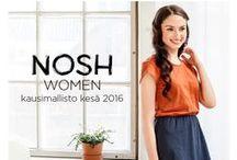 NOSH Clothing - Naisten kesä 2016 / Naisten kesäuutuudet ovat nyt NOSH vaatekutsuilla! Tutustu raikkaaseen mallistoon lookbookissa ja tilaa NOSH vaatekutsuilla tai NOSH edustajaltasi! nosh.fi/lookbookWOMEN (This collection is available only in Finland -> shop fabrics online at en.nosh.fi)