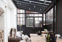 conservatory:summerhouse / Draußen wohnen, Wintergarten, Natur, Pflanzen, grün, Entspannung,