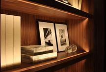 Iluminação: incorporada mobiliário