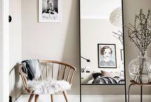 mirrors:decoration / Glas, Dekoration, Freiraum, Details, Spiegel, rund, wohnen, Eleganz
