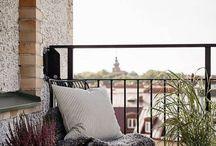 balcony:terrace / Draußen, Wohnen, Natur, Sommer, leben, Kissen, Stadt, Wohnung, Terasse, Sonne,