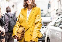 power:suits / Anzüge, Mode, Stil, Color Blocking, Farbe, Feminismus, Frauen, Business, oversize,