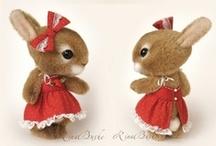 Lots of - Bunnies / Beautiful bunnies / coelhos / by Paula Navarro
