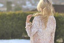 I secretly like glitter too / I have to admit, I like glitter, sparkle and glam things.