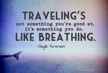 Wish I could travel all the time