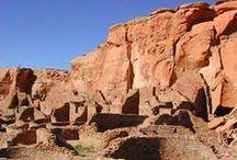 Ancient pueblos, pottery, petroglyphs... native americans