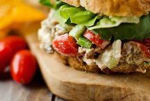 Salads and sandwichies