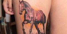Tattoo horses