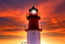 Shine a light on it / Lighthouses...strong, protective and built to last. Just like a great relationship
