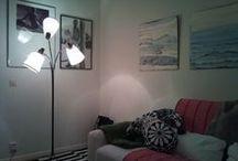 Lampor. Lamps. / lampskärmar, golvlampor, lampor, belysning