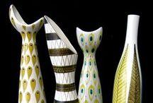 Keramik & Porslin.  / Ceramics and Porselain.