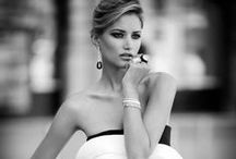 fashion ... black and white ...
