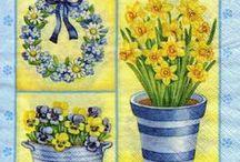 A - Spring illustrations
